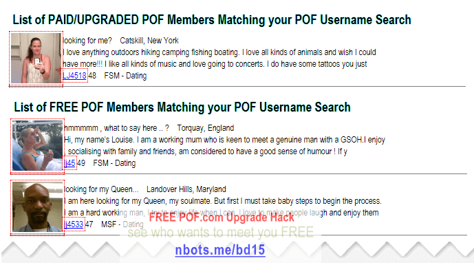Free POF com Upgrade Hack ☻ To See Who Wants To ❝Meet Me❞ Free