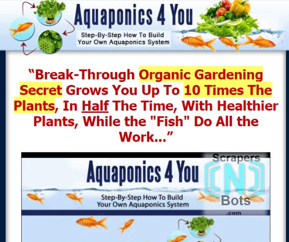 Aquaponics4you John Fay Website.