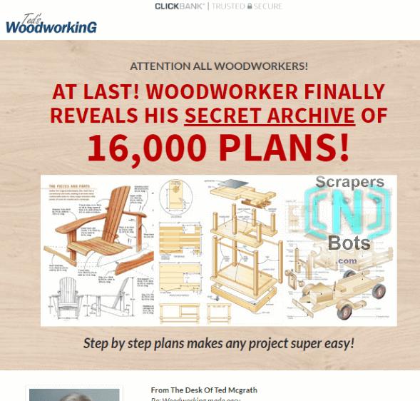 Kết quả hình ảnh cho teds woodworking