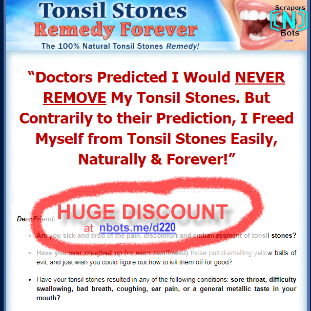 how to stop tonsil stones forever