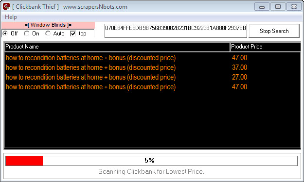 Image of Discounts And Other Downloads Related To Battery Reconditioning Course Discovered By Clickbank Thief Software.