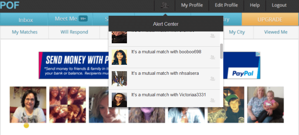 Image of Plenty Of Fish Mutual Match Notifications Is An Additional Source Of Interested Women Thanks To Plenty Of Fish Fast Software.