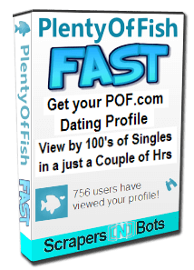 POF Auto Message Sender software box.